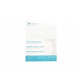 Score & Emboss Paper (30.4cm x 27.9cm) (1/pack)