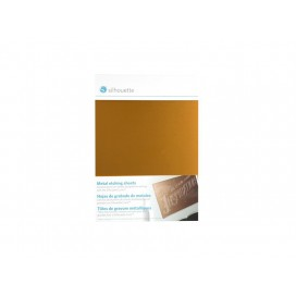 Metal Etching Sheets, Gold (12.7cm x 17.7cm) (1/pack)
