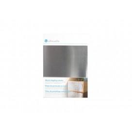 Metal Stippling Sheets, Silver (12.7cm x 17.7cm) (1/pack)