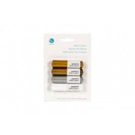 Silhouette Sketch Pen(Metallics) (1/pack)