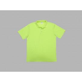 Polo Men's T-shirt(mesh exterior, Green)(10/pack)