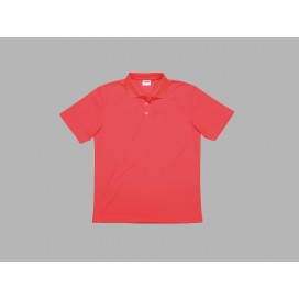 Polo Men's T-shirt(mesh exterior, Red)(10/pack)
