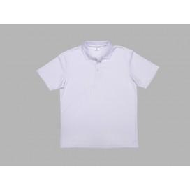 Polo Men's T-shirt(mesh exterior, White)(10/pack)