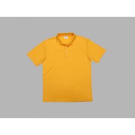 Polo Men's T-shirt(mesh exterior, Yellow)(10/pack)