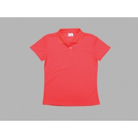 Polo Women's T-shirt(mesh exterior, Red)(10/pack)
