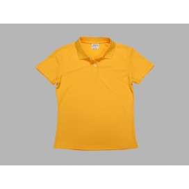 Polo Women's T-shirt(mesh exterior, Yellow)(10/pack)