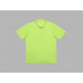 Polo Men's T-shirt(mesh interior,Green)(10/pack)