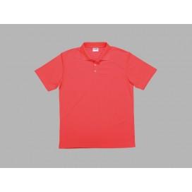 Polo Men's T-shirt(mesh interior,Red)(10/pack)