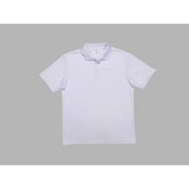Polo Men's T-shirt(mesh interior,White)(10/pack)