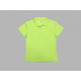 Polo Women's T-shirt(mesh interior, Green)(10/pack)