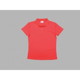Polo Women's T-shirt(mesh interior,Red)(10/pack)