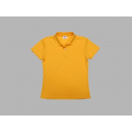 Polo Women's T-shirt(mesh interior,Yellow)(10/pack)