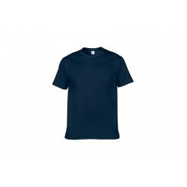 Cotton T-Shirt-Dark Blue-XXXL (10/pack)