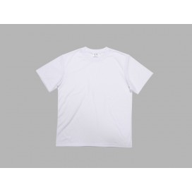 Men's Round Neck T-shirt(cotton feeling,White)(10/pack)