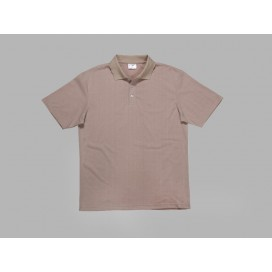 Polo Men's T-shirt(cotton feeling, Beidge)(10/pack)