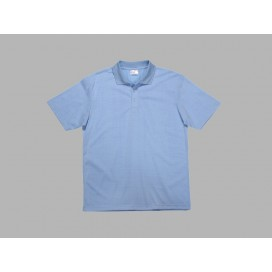 Polo Men's T-shirt(cotton feeling, Light Blue)(10/pack)