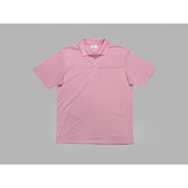 Polo Men's T-shirt(cotton feeling, Pink)(10/pack)
