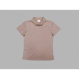 Polo Women's T-shirt(cotton feeling, Beidge)(10/pack)