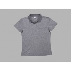 Polo Women's T-shirt(cotton feeling, Gray)(10/pack)