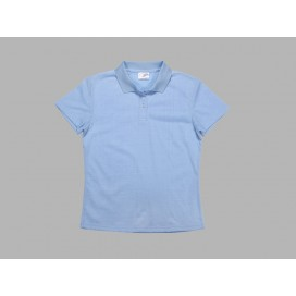 Polo Women's T-shirt(cotton feeling, Light Blue)(10/pack)