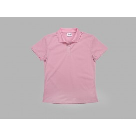 Polo Women's T-shirt(cotton feeling, Pink)(10/pack)