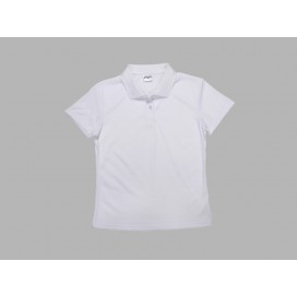 Polo Women's T-shirt(cotton feeling, White )(10/pack)