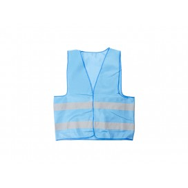 Economy Reflective Vest (Light Blue) (10/pack)