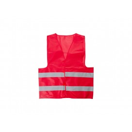 Economy Reflective Vest (Red) (10/pack)
