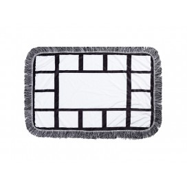 "Sublimation 15 Panel Plush Throw Blanket (76*101cm/30""x 40"")"