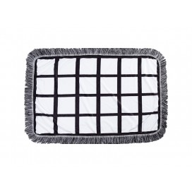 "Sublimation 24 Panel Plush Throw Blanket (76*101cm/30""x 40"")"