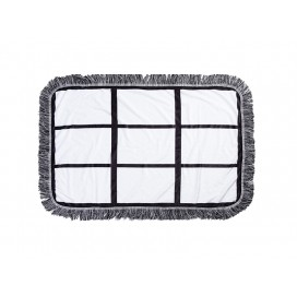 "Sublimation 9 Panel Plush Throw Blanket (50*80cm/19.7""x31.5"")"