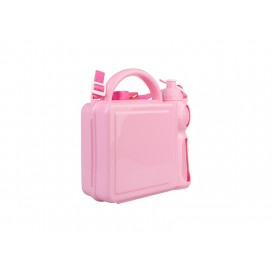 Handle Lunch Boxes with Sublimation Insert(Plastic, Rose) (10/pack)