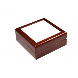 Jewelry Box w/ Ceramic tile(4