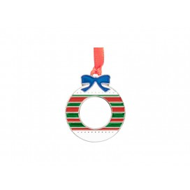 """3"""" Sublimation Metal Christmas Ball Ornament (10/pack)"""