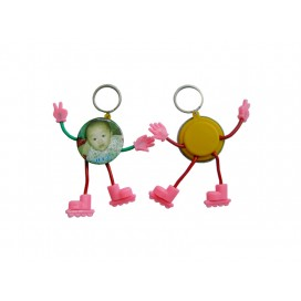 44MMCartoon Keyring button(10/pack)
