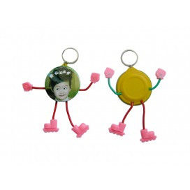 Cartoon Keyring button(10/pack)