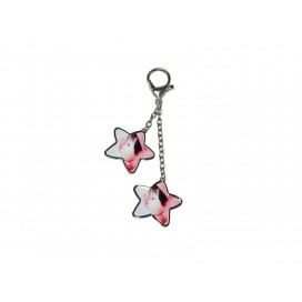 Two Stars Hanging Chain(10/pack)