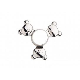 Fidget Spinner(Panda, Silver)(10/pack)