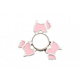 Fidget Spinner(Dog, Pink)(10/pack)