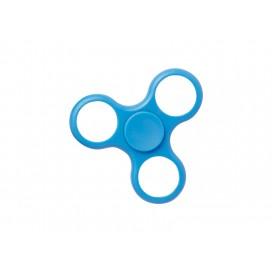 Plastic Fidget Spinner w/o insert (Whirlwind, Blue) (10/pack)