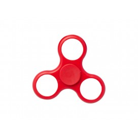 Plastic Fidget Spinnerw/o insert (Whirlwind, Red) (10/pack)