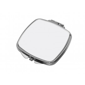 Square Shaped Compact Mirror(6.6*7.35cm)(10/pack)