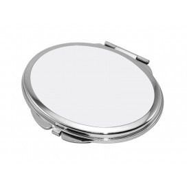 Oval Shaped Compact Mirror(6.3*7.2cm)(10/pack)