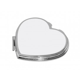 Heart Shaped Compact Mirror( 6.5*5.9cm)(10/pack)