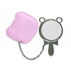 Round Hand Mirror with Leader Case(10/pack)
