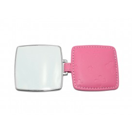 Square Hand Mirror with Leader Case(10/pack)