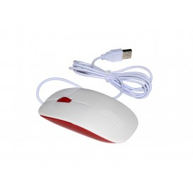 3D Sublimation Mouse (Red) (10/pack) MOQ:500
