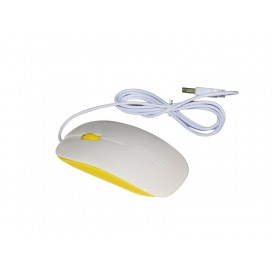 3D Sublimation Mouse (Yellow) (10/pack) MOQ:500