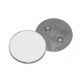 Fridge Magnet (Metal, Round)(10/pack)