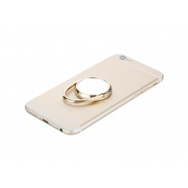 Rotating Mobile Phone Ring Holder(Gold)(10/pack)